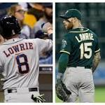 Jed Lowrie and Brett Lawrie are now teammates, creating MLB's most impossible ...