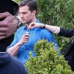 Set photos hint Grey, Anastasia wed in 50 Shades sequel