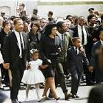 King, other civil rights activists honored