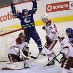 Canucks storm past Coyotes, 7-1