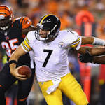 Ben Roethlisberger, Steelers offense struggle to find rhythm