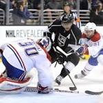 Kings defeat Canadiens, 2-1, for fifth consecutive win