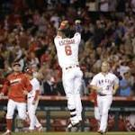 Escobar saves Street with winning RBI, Angels top Indians