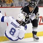 Penguins use rookies, Fleury to top Lightning 4-2