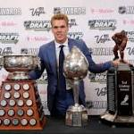 Oilers phenom Connor McDavid cleans up at NHL awards ceremony