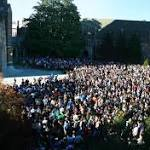 Updated: Duke community comes together to address noose