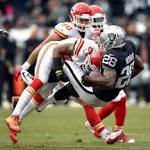 Turnovers Doom Raiders as Chiefs Prevail 34-20