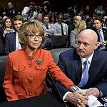 Former congresswoman Giffords targets senators in gun contol ad