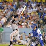 Buster Posey vs. Dodgers — a slam, a steal, a Giants win