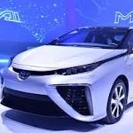 Toyota's fuel cell vehicle, the Mirai, comes to Calif.