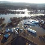 River ice jam continues to flood Alaska community
