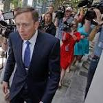 David Petraeus gets probation for mishandling classified material
