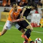 Injured Sarkodie perseveres in victorious Dynamo season opener