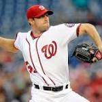 Max Scherzer has 20 strikeouts, ties MLB record as Nats edge Tigers