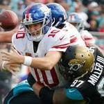 Jaguars rally from 21-0 deficit, beat Giants 25-24