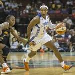 Pondexter scores 33 points and Liberty earn 88-82 victory over Dream
