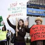 Protesters at Walmart call for $15/hour pay for workers