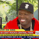 Cent - 50 Cent: 'Baseball Slipped Out Of My Hand'