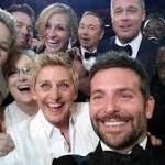 Ellen's Oscar celebrity selfie a landmark media moment