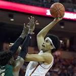 Men's Basketball falls at No. 2/1 Kansas, 79-67