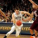 Connaugton leads Irish to 70-63 win over Va. Tech