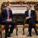 Prince William Hits DC; Kate Joins NYC First Lady