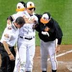 Chris Davis homers after replacing injured Manny Machado as O's romp