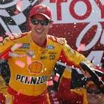 Joey Logano goes from last to first to win NASCAR race at Richmond