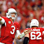Cardinals QB Palmer carted off with knee injury