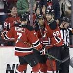 Schneider makes 38 saves , Devils win 4th in row
