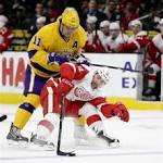 Kings beat Red Wings 1-0 for 8th straight win