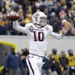 Texas A&M cruises past West Virginia 45-37 in Liberty Bowl