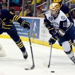 Andrew Copp scores two and Michigan reaches CCHA final