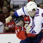 Lundqvist, Richards lead Rangers past Capitals 2-0