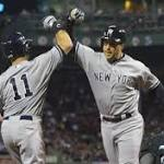 Yankees complete sweep of Red Sox at Fenway, Mark Teixeira, Brett Gardner hit ...