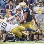 Prosise runs his way into spotlight at Blue-Gold Game