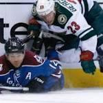 Colorado Avalanche falls 3-1 to Minnesota Wild