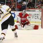 Red Wings running themselves out of series vs. Bruins