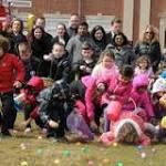 Florham Park kids race for Easter eggs