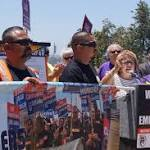 LA Port Truckers Agree to Lull in Protests, Garcetti Says
