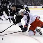 Kings 2, Blue Jackets 1 (OT): Robyn Regehr's goal in OT the difference