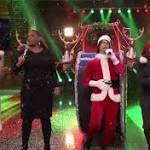 Watch Jimmy Fallon And Rashida Jones Sing Holiday Versions Of 2015's Biggest Hits