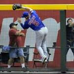 Anthony Rizzo gives Cubs a scare with catch