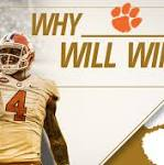 Five reasons why No. 1 Clemson will win the College Football Playoff