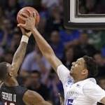 Jahlil Okafor Showing He's a Man Among Boys in Scorching NCAA Tournament ...