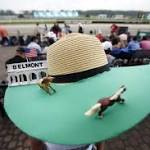 Smaller crowd on hand to watch American Pharoah's Triple try