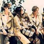 Top flight index edges up despite hefty fall from luxury fashion firm Burberry