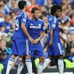 Costa Hazard lead Chelsea past Leicester to remain perfect