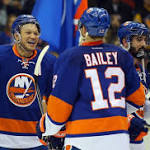 NHL Three Stars: Okposo's Four Goals Lead Surging Islanders Into First