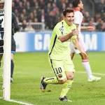 Messi ties Champions League career scoring record
